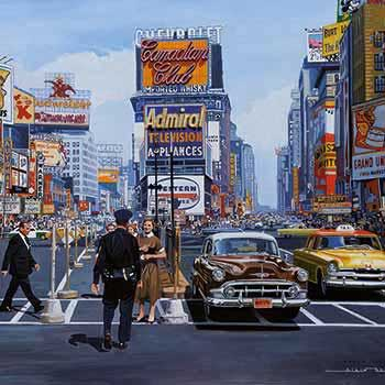 Alain Bertrand Times Square New York image