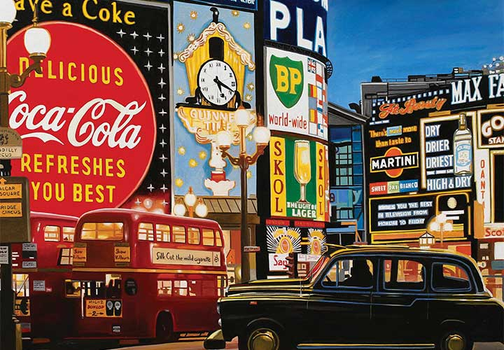 Alain Bertrand Cuba Car Painting