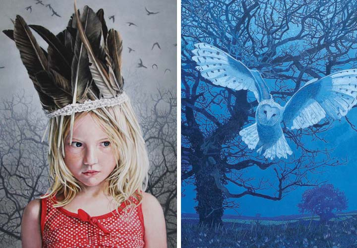 Katy Sullivan and Annie Ovenden joint exhibition image