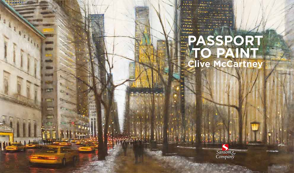 New book by Clive McCartney - Passport to Paint image