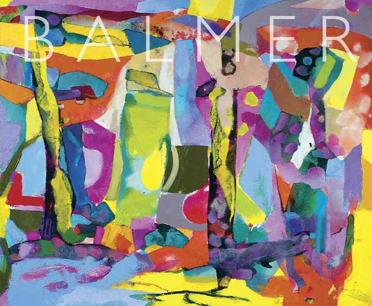 Catto Gallery Derek Balmer abstract artist exhibition catalogue 2018
