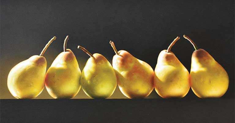 Leon Belsky pears image