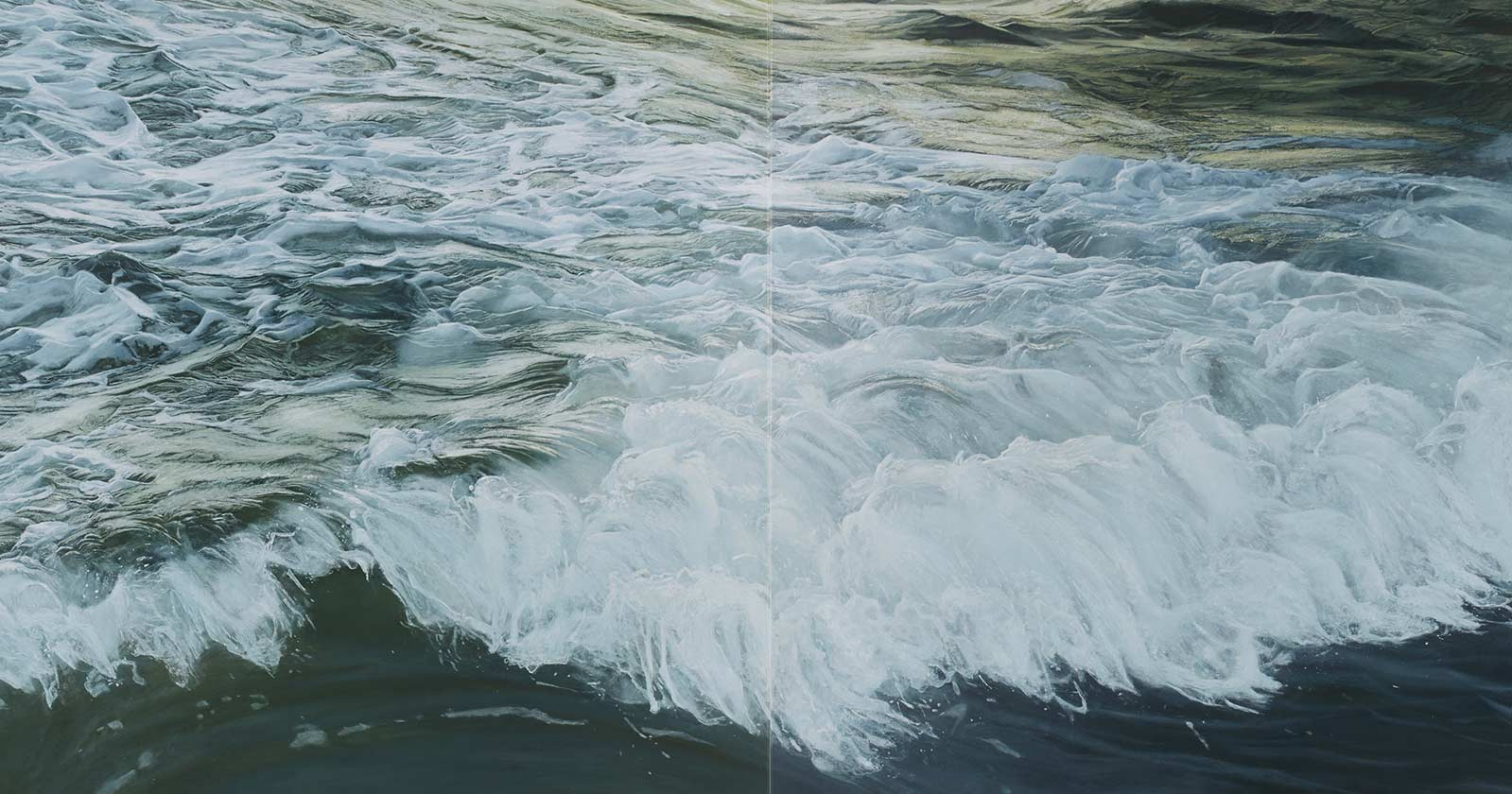 Ramsay Gibb After the Wave painting image