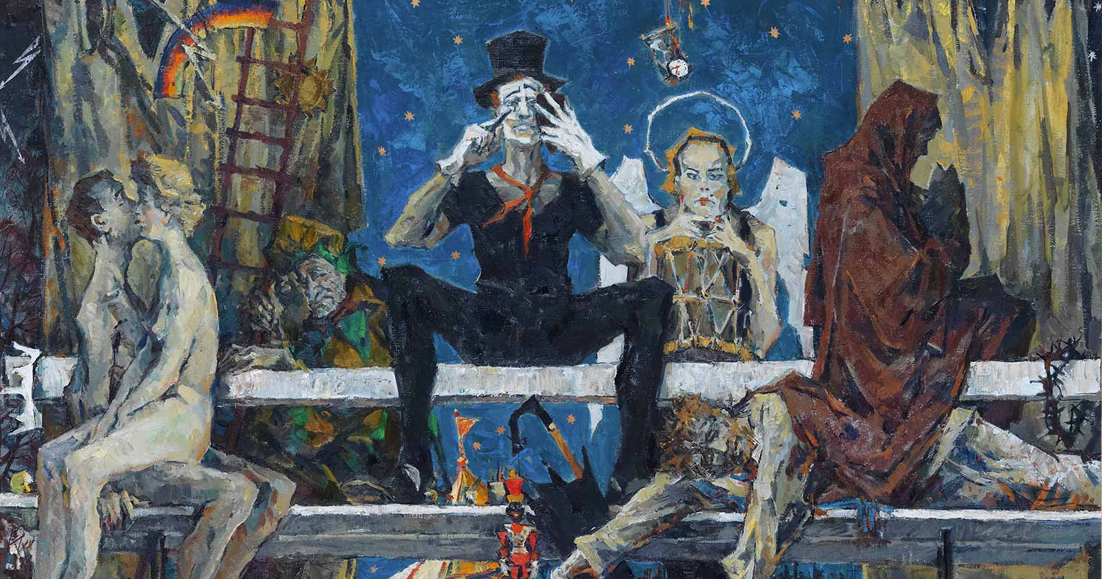 Sergei Chepik The Bench Contemporary Russian Artist image
